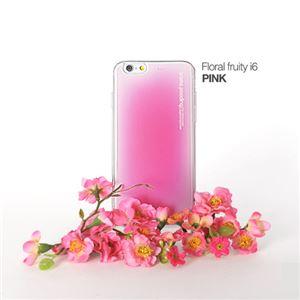 セブンシーズ・パスタ iPhone6用香り付き保護ケース Aroma(アロマ) case Floral fruity Pink ACFP - 拡大画像