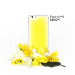セブンシーズ・パスタ iPhone6用香り付き保護ケース Aroma(アロマ) case Floral fruity Yellow ACFY - 拡大画像