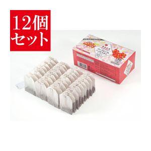 【12個セット】 麻布紅茶 ローズヒップ&ハイビスカスハーブティー