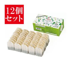 【12個セット】 麻布紅茶 ジャスミングリーンティーバッグ