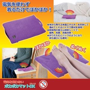 昭光プラスチック 電気を使わない ぽかぽかマットデラックス 809946 - 拡大画像