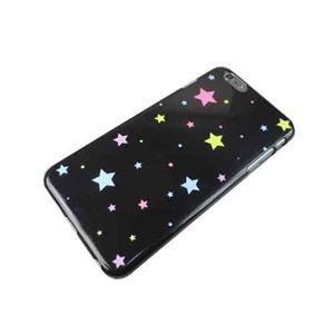 トーシン産業 iPhone6+用ケース ポップスター ブラックTS-ip6pluspopstar-BK h01