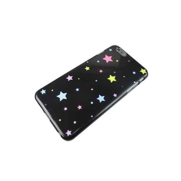 トーシン産業 iPhone6+用ケース ポップスター ブラックTS-ip6pluspopstar-BKf00