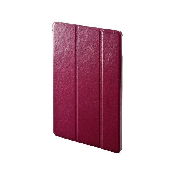 サンワサプライ iPadAir2ソフトレザーケース(レッド) PDA-IPAD67Rf00