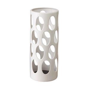 山崎実業 陶器かさたて アーバン ホワイト YJ-06092