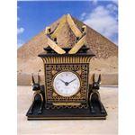 ワールドピクチャー アヌビスドッグ置き時計 エジプト雑貨 W-70627-4580