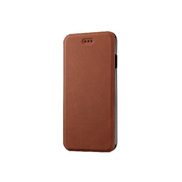 エレコム iPhone 6用オールアングルスタンドカバー PM-A14PLFMBRf00