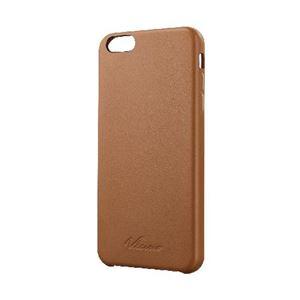 エレコム iPhone 6 Plus用ソフトレザーカバー/オープン PM-A14LPVLBR h01
