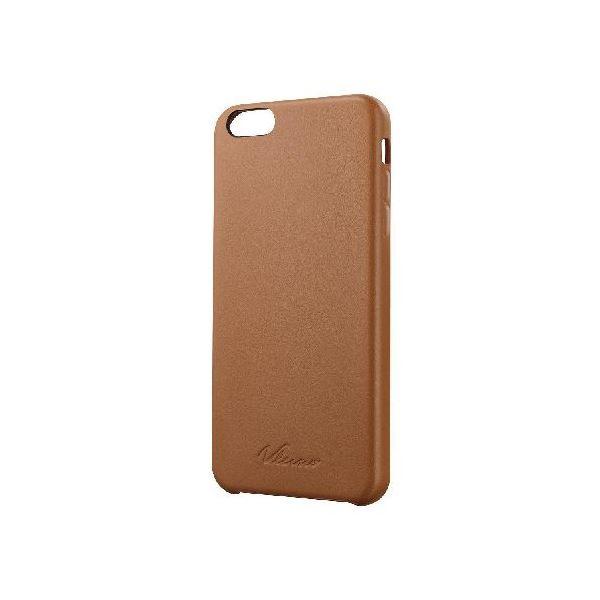 エレコム iPhone 6 Plus用ソフトレザーカバー/オープン PM-A14LPVLBRf00