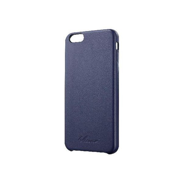 エレコム iPhone 6 Plus用ソフトレザーカバー/オープン PM-A14LPVLBUf00