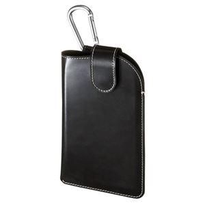 サンワサプライ スマートフォンレザーケース(5インチ用) PDA-SPC10BK