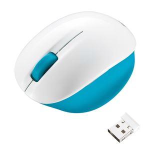 サンワサプライ ワイヤレスブルーLEDマウス MA-WBL30WBL