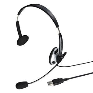 サンワサプライ USBヘッドセット MM-HSUSB13BKN h01