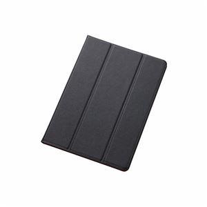 エレコム iPad Air 2用イタリアンECOレザーカバー2アングル TB-A14WDTBU h01