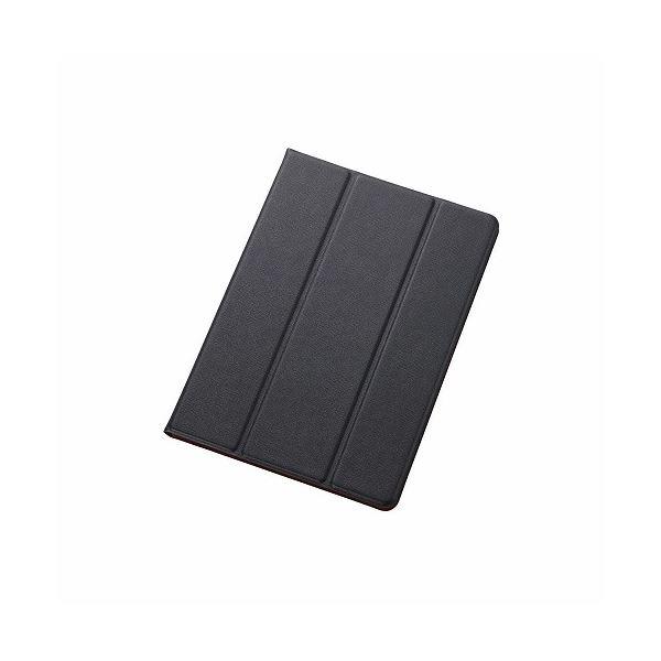 エレコム iPad Air 2用イタリアンECOレザーカバー2アングル TB-A14WDTBUf00