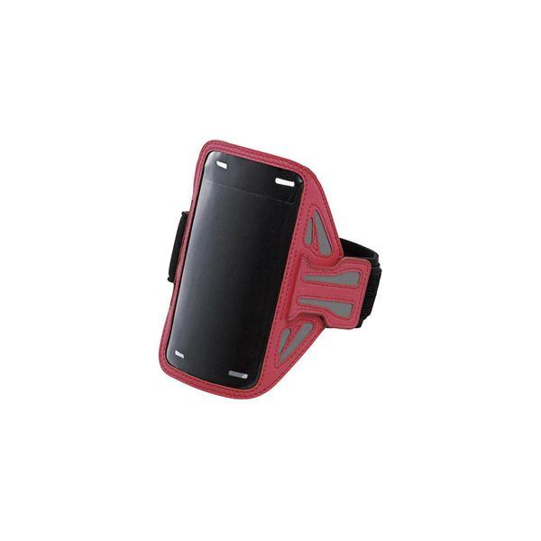 エレコム スマートフォン用スポーツアームバンド(Sサイズ) P-ABC01PNf00