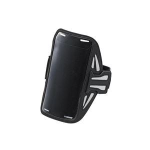 エレコム スマートフォン用スポーツアームバンド(Lサイズ) P-ABC02BK h01