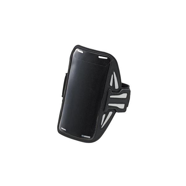 エレコム スマートフォン用スポーツアームバンド(Lサイズ) P-ABC02BKf00