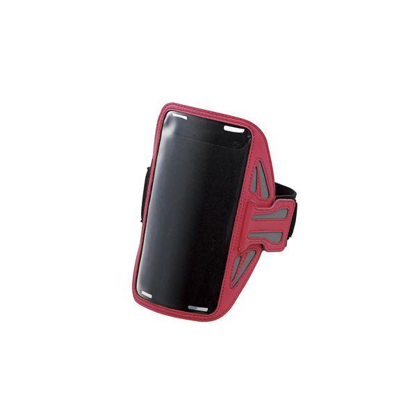 エレコム スマートフォン用スポーツアームバンド(Lサイズ) P-ABC02PNf00