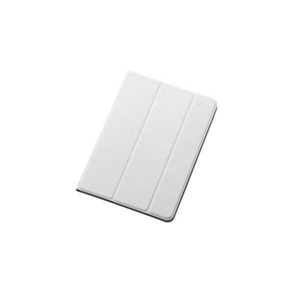 エレコム iPadmini用イタリアンECOレザーカバー(2アングル) TB-A14SWDTWHf00