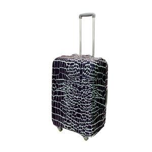 ミヨシ 撥水加工付スーツケースカバ- Mサイズ クロコダイル柄 MBZ-SCM2/CR h01