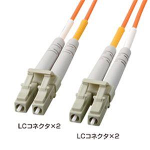 サンワサプライ 光ファイバケーブル1.5m HKB-LL5-01K h01