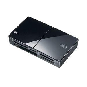 サンワサプライ USB3.0カードリーダー ADR-ML33U3BK