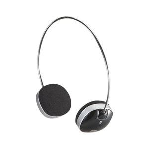 サンワサプライ Bluetoothステレオヘッドセット(ブラック) MM-BTSH30BK h01
