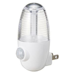 YAZAWA センサーナイトライトホワイト2個 NASMN01WH2P