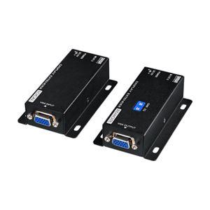 サンワサプライディスプレイエクステンダー(受信機電源不要・セットモデル)VGA-EXSET3