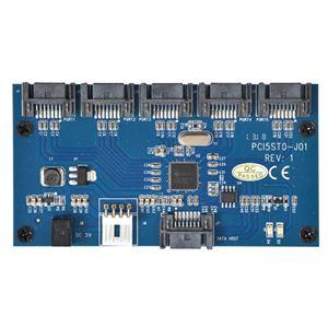 サンコー SATA 5ポートマルチプライヤーカード SATA5MLT h01