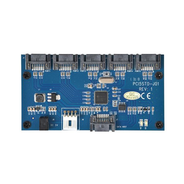 サンコー SATA 5ポートマルチプライヤーカード SATA5MLTf00