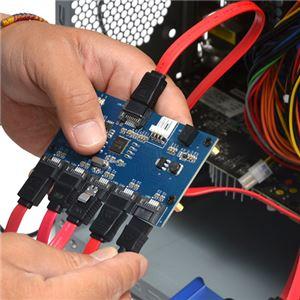 サンコー SATA 5ポートマルチプライヤーカード SATA5MLT h03