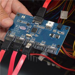 サンコー SATA 5ポートマルチプライヤーカード SATA5MLT f04