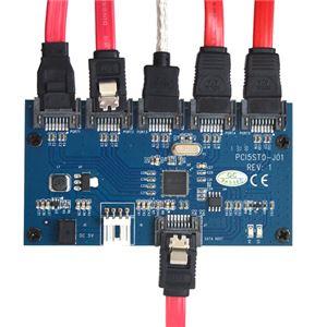 サンコー SATA 5ポートマルチプライヤーカード SATA5MLT f05