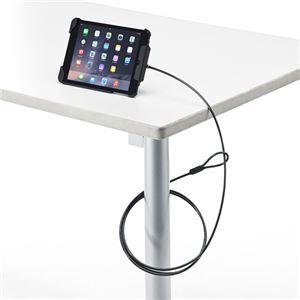 サンワサプライ iPadmini3/mini2/mini対応セキュリティ(ブラック) SL-65IPMBK