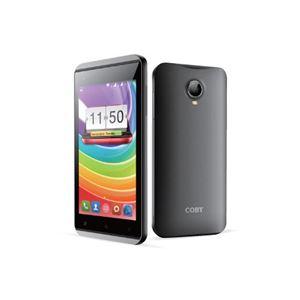 COBY 4.5インチデュアルSIMスマートフォン ブラック CBP-G45 - 拡大画像