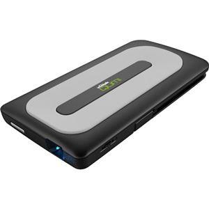 QUMI バッテリー搭載 モバイル プロジェクター Q1-WT ホワイト 5100261600