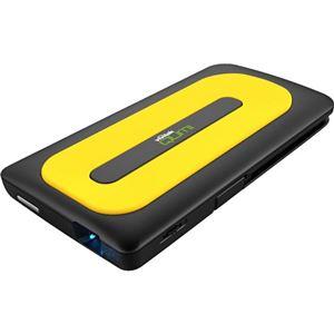 QUMI バッテリー搭載 モバイル プロジェクター Q1-YW イエロー 5100261500