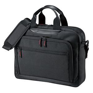 サンワサプライ マチ拡張PCバッグ BAG-W1BKN