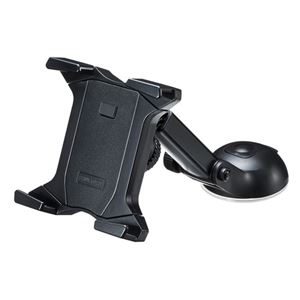 サンワサプライ タブレット用車載ホルダー(オンダッシュタイプ) CAR-HLD7BK