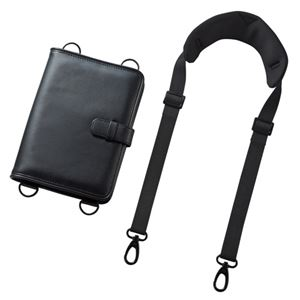 サンワサプライ ショルダーベルト付き7〜8インチタブレットPCケース(耐衝撃タイプ) PDA-TAB9SG