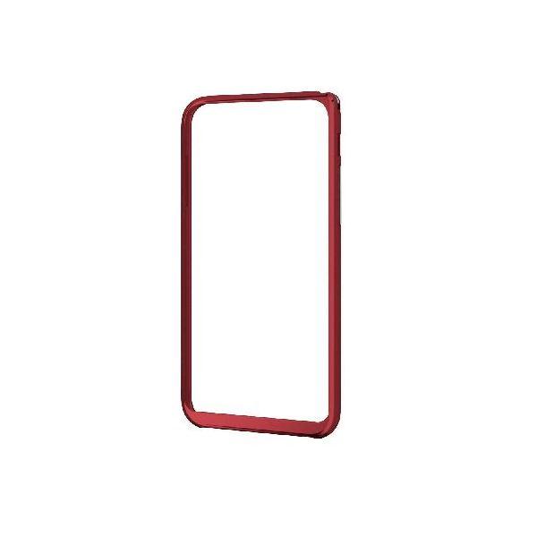 エレコム iPhone6s/6用アルミバンパー/薄型/レッド PM-A15ALBURDf00