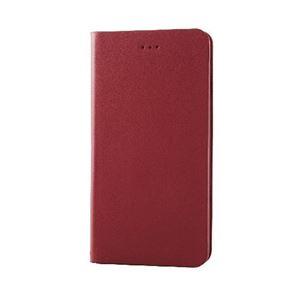 エレコム iPhone6s Plus/6 Plus用本革(スプリット)カバー/レッド PM-A15LPLFHRD h01