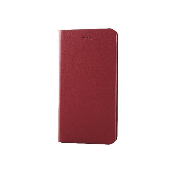 エレコム iPhone6s Plus/6 Plus用本革(スプリット)カバー/レッド PM-A15LPLFHRDf00