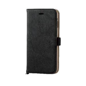 エレコム iPhone6s Plus/6 Plus用ソフトレザーカバー/磁石タイプ/ブラック PM-A15LPLFYBK h01