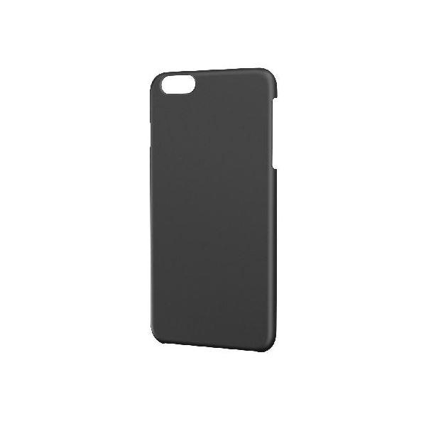 エレコム iPhone6s Plus/6 Plus用シェルカバー/ラバーコート/ラバーブラック PM-A15LPVRBKf00