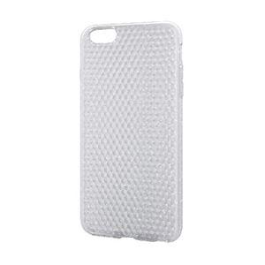 エレコム iPhone6s Plus/6 Plus用ソフトケース/ダイヤカット/ラメクリア PM-A15LUCJCR h01