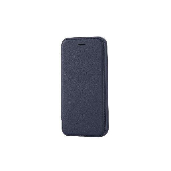 エレコム iPhone6s/6用ソフトレザーケース/極み/ブルー PM-A15PLFABUf00