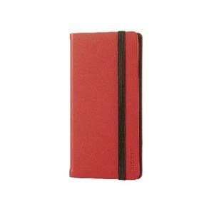 エレコム iPhone6s/6用手帳型カバー/ゴムバンド付/レッド PM-A15PLFCRD h01